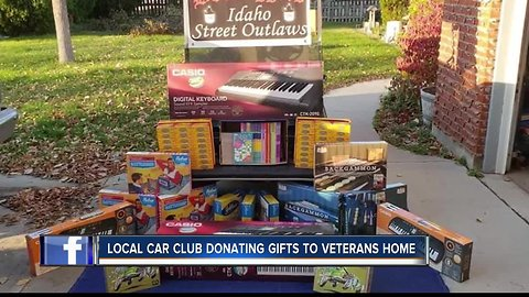 Local car club donates gifts to Veteran's Home