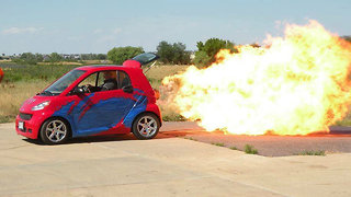 World's First Jet-Powered Smart Car | RIDICULOUS RIDES