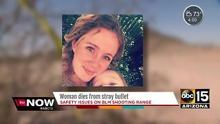 Police identify woman killed by stray bullet in Buckeye desert area - Video