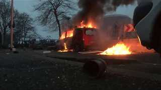 Violence Flares at Police Brutality Protest in Paris Suburb - Video