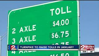 Oklahoma Turnpike Authority raising toll rates