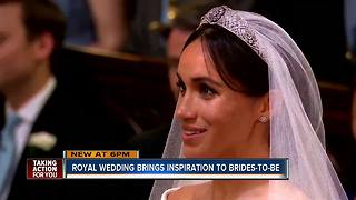 Royal wedding inspires brides-to-be