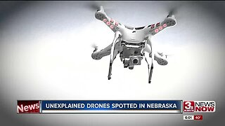 Unexplained drones spotted in Nebraska