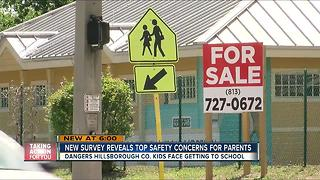 Survey reveals Hillsborough parents' fears about kids walking to school - Video