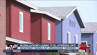 Housing Authority looking to fill affordable units