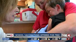 FL Department of Health expects back to school rush for immunizations - Video