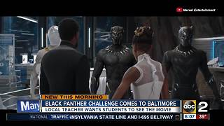 Black Panther Challenge comes to Baltimore - Video