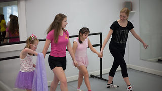 Kids with down syndrome get free ballet classes – and it's the sweetest thing - Video
