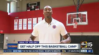 Score! Half off basketball camp in Phoenix - Video
