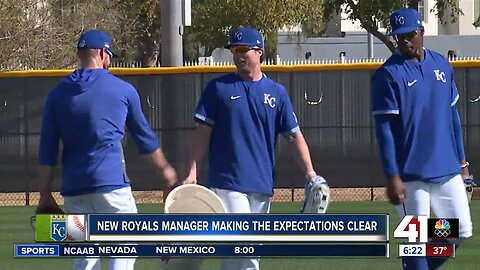 Royals manager Mike Matheny makes exceptions clear