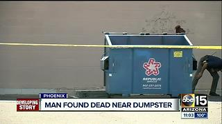 Man found dead near 35th Ave/Peoria - Video