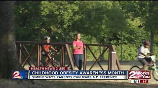 Childhood obesity awareness month - Video