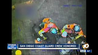 San Diego Coast Guard Crew honored