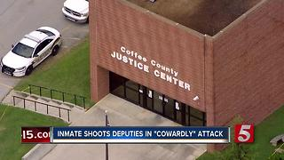 2 Deputies Injured In Shooting At Coffee Co. Courthouse - Video