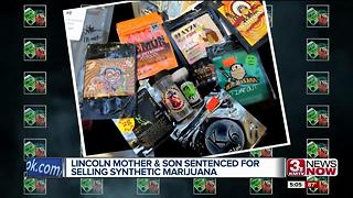 Lincoln mother, son sentenced for selling synthetic marijuana - Video