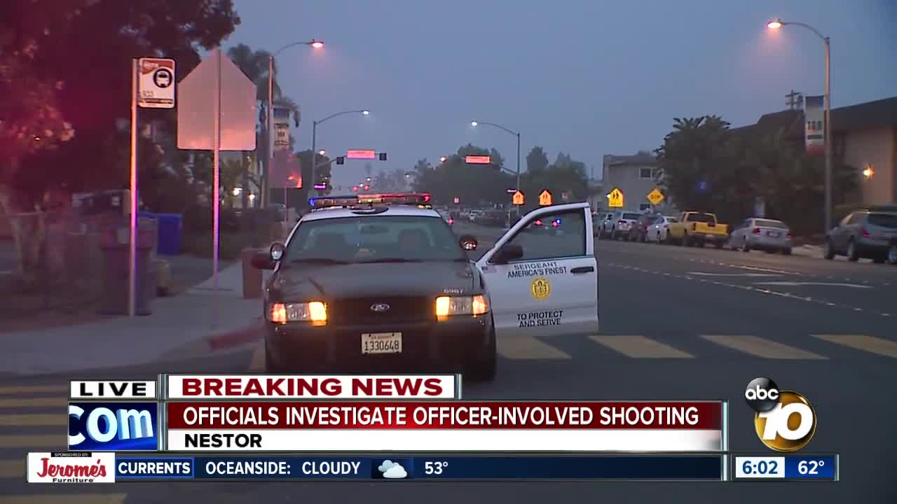 Officer-involved shooting in Nestor