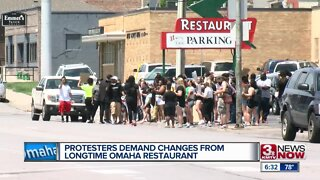 Protesters Demand Changes From Longtime Omaha Restaurant