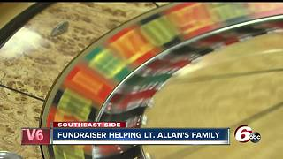 Shop with a Cop event honors first Christmas without Lt. Aaron Allan - Video