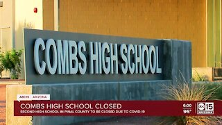Combs High School closed due to COVID outbreak