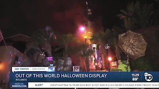 Out-of-this-world Halloween display in Rolando