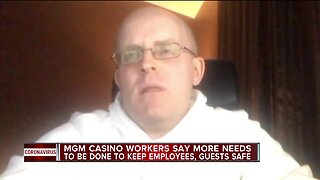 MGM Grand Detroit employees express concern over COVID-19 response
