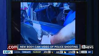 Body-cam footage shows shootout with police - Video