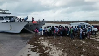 Antigua Private Boat Charter Mobilizes to Evacuate People From Barbuda - Video