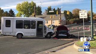 At least 1 dead in three-vehicle crash in Arvada - Video