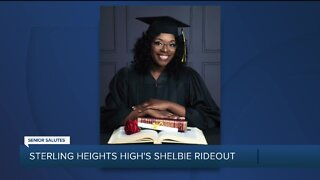 WXYZ Senior Salutes: Sterling Heights High School's Shelbie Rideout