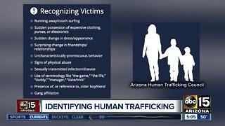 Officials to release 2017 report on human trafficking in Arizona - Video