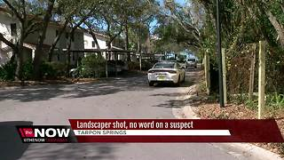 Police investigating shooting in Tarpon Springs