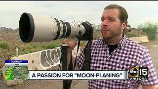 Photographers chasing unique photo opportunities in Valley