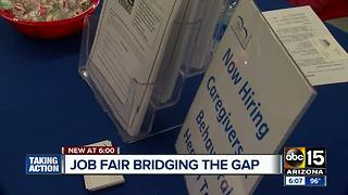 Job fair program helps provide resources,  tips for individuals with autism - Video