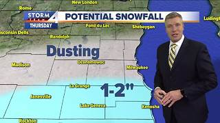 Snow overnight could make for slippery commute - Video