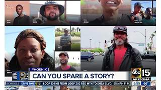 Stories of the homeless in Phoenix - Video