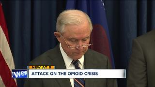 Attorney General Jeff Sessions was in CLE to discuss 3 local cases aimed at stopping opioid crisis