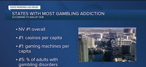 Study: Nevada ranked 5th for adults with gambling disorders