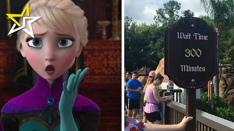 Epcot Opens New 'Frozen: Ever After' Ride Which Already Has A 300-Minute Wait Time To Get On