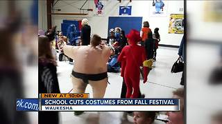 Parents upset with Halloween costume controversy at Waukesha school - Video