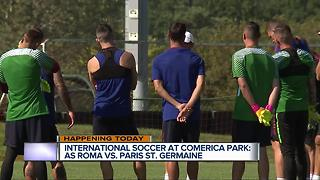 International soccer at Comerica Park: AS Roma vs. Paris St. Germaine - Video