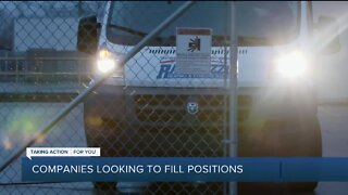 Companies looking to fill positions