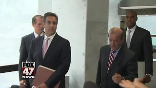 Michael Cohen to be sentenced in New York court
