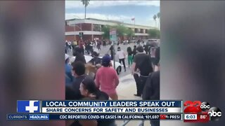 Leticia Perez shares thoughts on protests