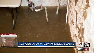 Brookside residents prepare for potential flooding - Video