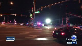 1 wounded in officer-involved shooting in Aurora; no officers injured - Video