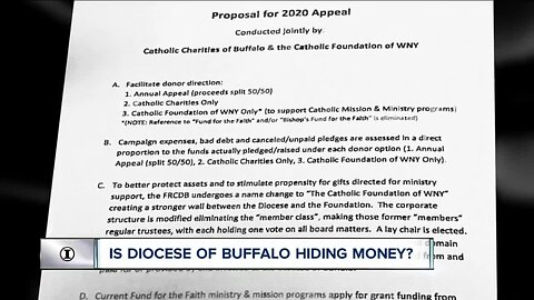 I-TEAM: Is the Diocese of Buffalo hiding money ahead of bankruptcy?