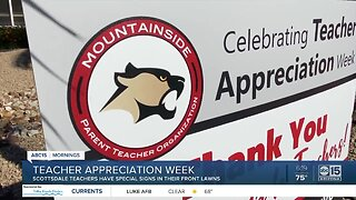 East Valley teachers get a special 'thank you'