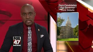 Democrats running for Michigan Governor debate - Video