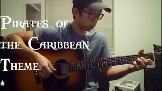 Amazing acoustic cover of 'Pirates Of The Caribbean' theme song - Video