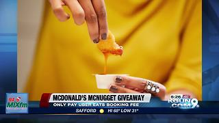 McDonald's McNugget giveaway - Video